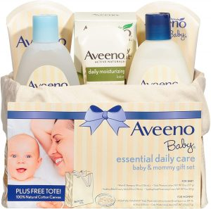 Aveeno Essential Daily Care Baby & Mommy Gift Set