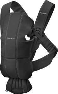 Babybjorn Mini Baby Carrier Cotton in Black