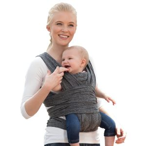 Bobby Comfortable Fit Baby Carrier in Heathered Gray