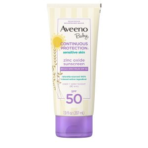 Aveeno Continuous Protection Best Baby Sunscreen