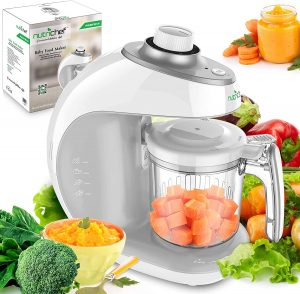 Digital 2-in-1 Baby Food Maker Machine