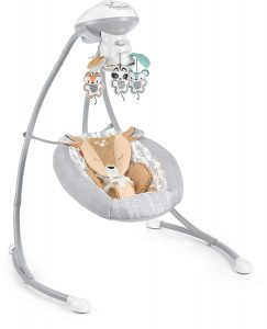 Fisher-Price Fawn Meadows Deluxe Cradle 'N Swing