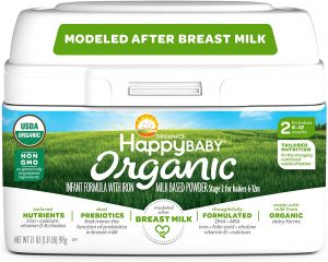 Happy Baby Organic Infant Formula