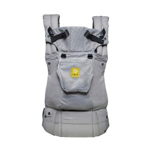 Lille baby Complete Airflow 360 Degree Ergonomic 6 Position Baby Carrier in Silver