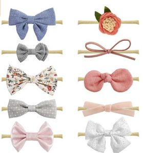 Miiyoung Baby Girl Headbands And Bows
