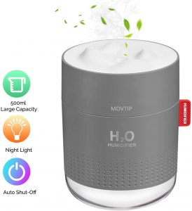 Portable mini humidifier by MOVTIP