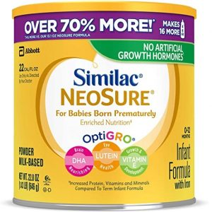 Similac NeoSure Infant Formula with Iron for Premature Babies